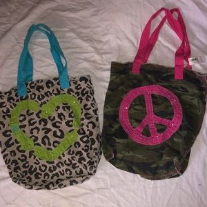 Two Cute Old Navy Tote bags